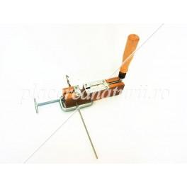 Stapler perforator for staples and rivets